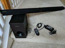 Genuine Samsung (HW-FM35) Sound Bar, Subwoofer, Power Supply & Remote no box