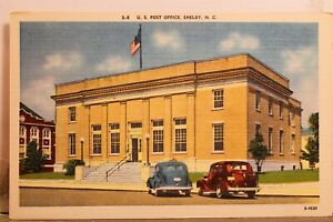 North Carolina NC Shelby US Post Office Postcard Old Vintage Card View Standard