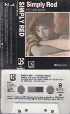 SIMPLY RED  Picture book   DIFFICULT    SPANISH  CASSETTE  Spain 1985