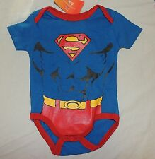NEW Baby Superman Body, Muscles, One Piece, Size 6-9 Months, Bodysuit, Costume