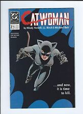 Dc Catwoman 3 1st Limited Series - Rare Key Comic book