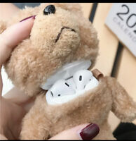 Teddy Plush For AirPods Case Wireless Bluetooth Cover For Apple AirPod 2 1 Case