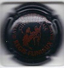 Capsule de champagne Fliniaux Regis cuvée speciale noir écriture rouge  news