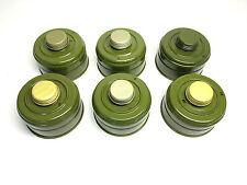 Lot of 6 gas mask filter 40mm russian nato GP-7V GP-7 GP-5 PMK PDF filters