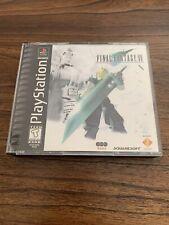 Rare Original Ps Squaresoft Final Fantasy 7 With Case And Manual.