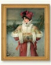 Victorian Trading Co The Lady of the Snows George Henry Boughton Winter Print