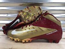 Nike Vapor Talon Elite 3/4 Florida State Seminoles FSU Football Cleats SZ 13.5