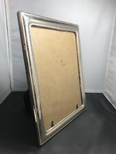"""Fine 925 Sterling Silver Handmade Picture Frame 11 X 8.5"""""""