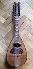 Mandolin 12 strings FORNASARI, BOLOGNA 1897 mandolino antico mandoline alte old