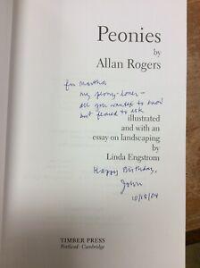 Inscribed By John Updilke - Flower Book