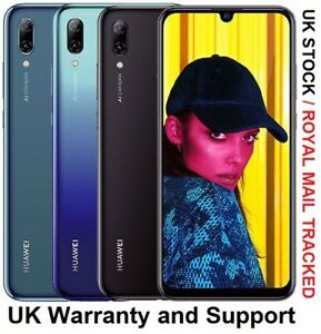 "HUAWEI P Smart 2019 6.21"" 64GB 4G LTE Unlocked UK Version All Colours"