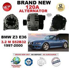 FOR BMW Z3 E36 3.2 M S52B32 1997-2000 120A ALTERNATOR BRAND NEW ** OE QUALITY **