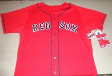 NEW Boston Red Sox Authentic Majestic Alternate Red Jersey Mens Size XL / 48