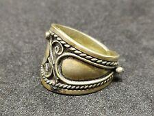 Metal Very Old Artifact Rare Ring Handmade Ancient Vintage-Antique Viking Style