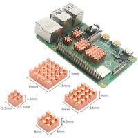 4PCS Copper Heatsink Passive Cooling Pad Radiator For Raspberry Pi 4B 4 Model B