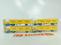 BO645-0,5# 4x Wiking H0/1:87 Sattelzug Mercedes/MB Ikea: 25544 + 26544, NEUW+OVP