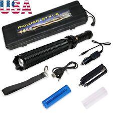 LED Tactical Baseball Bat Flashlight Emergency Car Security Self Defense Torch