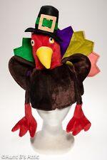 Turkey Hat Fun Colorful Novelty Thanksgiving Costume Bird Hat OS