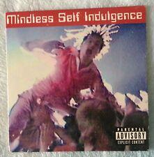Mindless Self Indulgence PROMO CD Thank God BRING THE PAIN tight '02 RARE