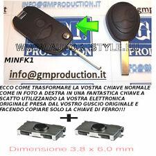 GUSCIO COVER TRASFORMATA KEY CLE CHIAVE TELECOMANDO MINI COOPER D ONE +2 switch
