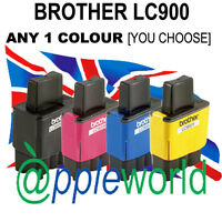 Cualquier 1 LC900 CARTUCHO DE TINTA ( BLK,C,M O Y ) Usted Elige [NO Brother OEM