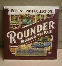 Blue Moon Rounder Belgian-Style Beer Tin Bottle Sign ... Blue Moon Brewing Co