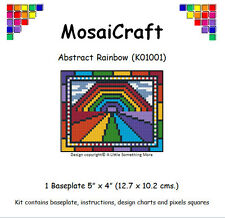MosaiCraft Pixel Craft Mosaic Art Kit 'Abstract Rainbow' Pixelhobby