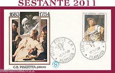 ITALIA FDC FILAGRANO G. B. PIAZZETTA PITTORE ANNULLO ROVIGO 1982 G894