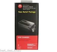 OEM Motorola HW4X Spare Battery+External Dock Charger For Atrix 2 MB865 HW-4X