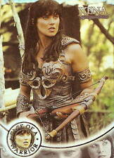 Xena Warrior Princess Seasons 4 &5 W8 Face of a Warrior insert card Lucy Lawless