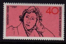 W Allemagne 1972 Heinrich Heine SG 1644 neuf sans charnière