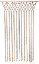 Macramé Door Curtain 90 x 180cm Rope Curtain Door String Curtain