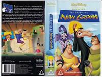 DISNEY - THE EMPEROR'S NEW GROOVE   *RARE VHS TAPE*