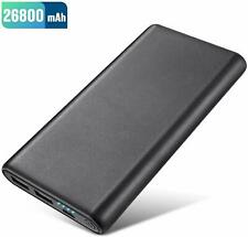 Power Bank 26800mah Non Slip Design Portable Charger Ultra High Capacity Auto Ic