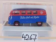 Brekina 1/87 Nº 31011 Volkswagen Camionnette VW t1a Bus TELEFUNKEN radio neuf dans sa boîte #4267