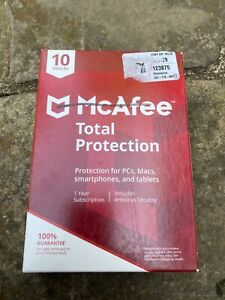 McAfee Total Protection for PCs, Macs, smartphones, and tablets  10 devices