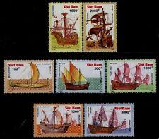 N.Vietnam MNH Sc 2126-32 Mi 2196-02 Value $ 4.00 US $ Boats Ancient