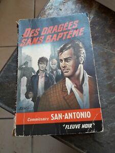 San Antonio - Des dragées sans baptême  / Fleuve Noir,1965