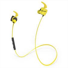 Bluedio TE (Turbine) Auriculares Deportivos Bluetooth Inalámbricos Amarillo