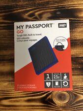 Western Digital My Passport 1 TB,External (RWDBYNN0010BBL-WESN) Hard Drive