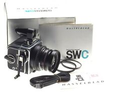 Hasselblad SWC/M wide angle f=38mm Zeiss Biogon 4.5/38mm T* finder strap box man