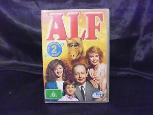 Alf : THE COMPLETE SEASON 2 - 4 DISC SET - GOOD CONDITION - R4