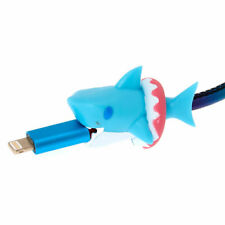 Claire's Girl's Shark Cable Critter - Blue
