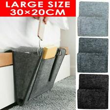 Felt Bedside Storage Caddy Hanging Bag Sofa Organizer Pocket Holder Home Phone