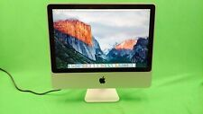 "Apple iMac A1224 20"" Mid 2007 Core 2 Duo @ 2.4, 4GB RAM, 256GB SSD  OS X 10.11.6"