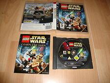 LEGO STARS WARS THE COMPLETE SAGA DE TT GAMES PARA LA SONY PS3 USADO COMPLETO