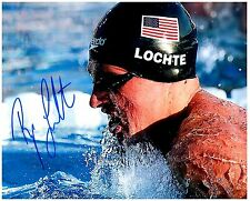 Ryan Lochte Signed Autographed Team U.S.A. Olympic Swimming 8x10 Pic. A