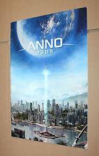 """Anno 2205 prensa cuaderno/publicidad/con carteles """"fly me to the Moon"""""""