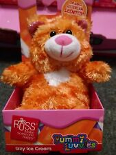 Russ Berries Yummy Luvvies Peeper IZZY ICE CREAM Scent Bear 3 yrs+ New 2014