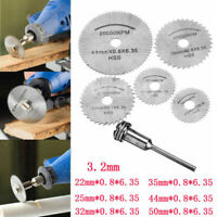 Circular Saw Disc kit Dremel Accessory Mini Drill Rotary Tool Wood Cutting Blade